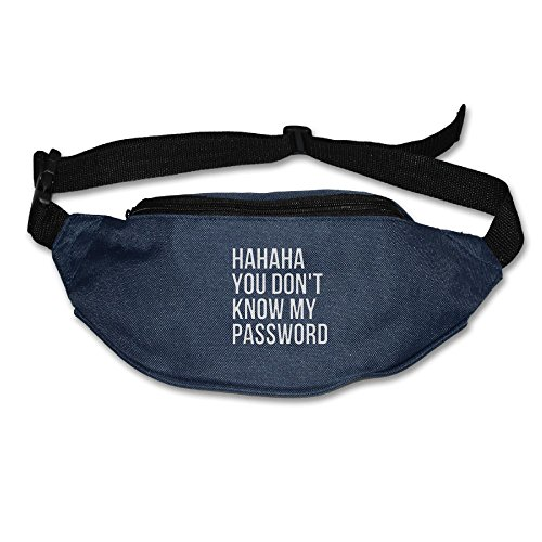 You Don't Know My Pass Word Waist Pack Bag Waist Pouch