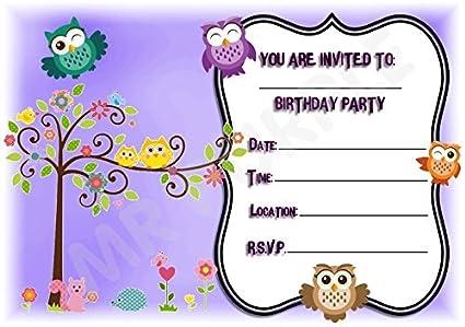Pretty diseño de cumpleaños - invitaciones para fiestas ...