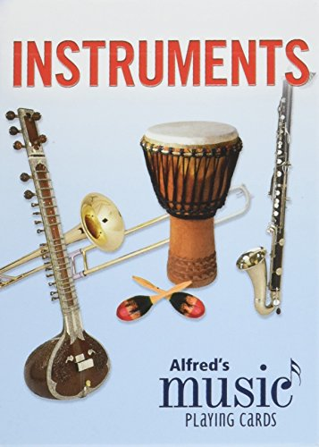 Alfred's Music Playing Cards -- Instruments: 1 Pack, Card Deck (Alfred Instrument)