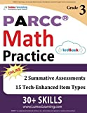 PARCC Test Prep: 3rd Grade Math Practice Workbook and Full-length Online Assessments: PARCC Study Guide