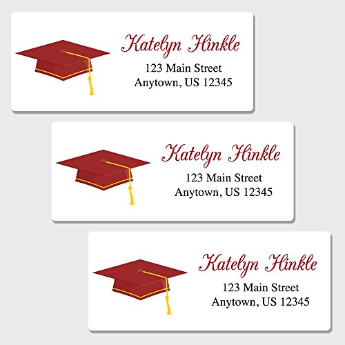 uation Return Address Labels - Customized Address Labels (AL50 (Grad Address Label)