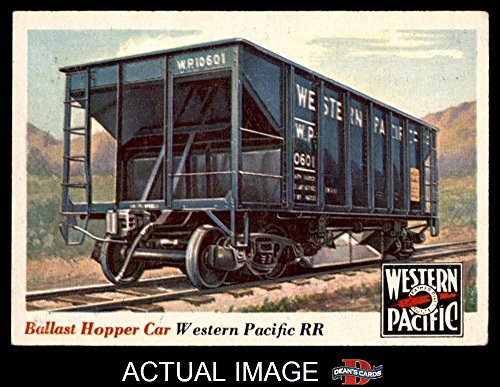 Ballast Hopper (1955 Topps Rails & Sails # 29 Ballast Hopper Car (Card) Dean's Cards 5 - EX)
