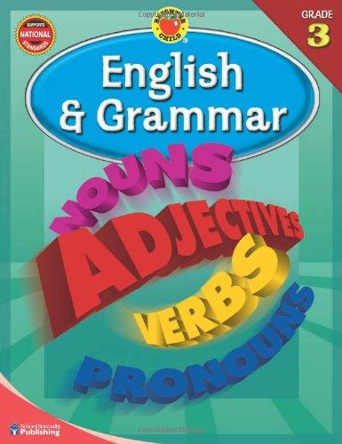 Read Online Brighter Child® English and Grammar, Grade 3 (Brighter Child Workbooks) PDF