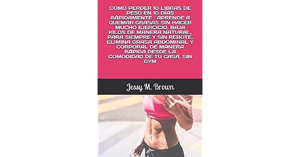 Como bajar de peso rapido sin hacer ejercicios de estomago