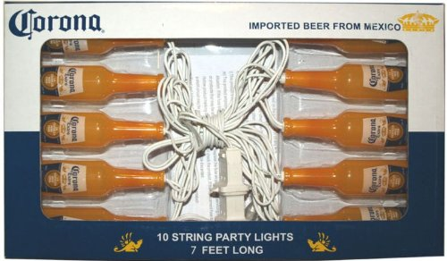 Corona Extra Beer Bottle Gazebo Outdoor Deck Patio Party String Light Lighting