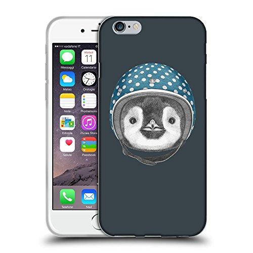"""GoGoMobile Coque de Protection TPU Silicone Case pour // Q05320606 Casque pingouin Arsenic // Apple iPhone 6 PLUS 5.5"""""""