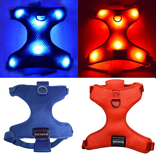 led light dog harness - 9