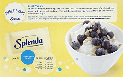 Splenda--No Calorie Sweetener--200 Count Packets, 14.1 Ounce--Sugar Substitute for Use with Coffee, Tea, Fruit, Cereal, and More by Splenda (Image #4)