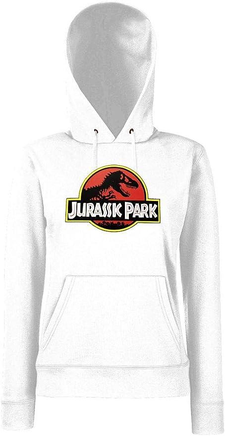 XS-XXL. Youth Designz Sudadera con Capucha para Mujer Modelo Jurassic T-Rex Talla Tallas