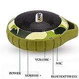 Zinx Waterproof Bluetooth Speaker,Portable Bluetooth Speaker, with Waterproof & Dustproof, Shockproof Design, Built-in Mic, USB Charging Port, 8 Hours Playtime - TP-01 (Camouflage)