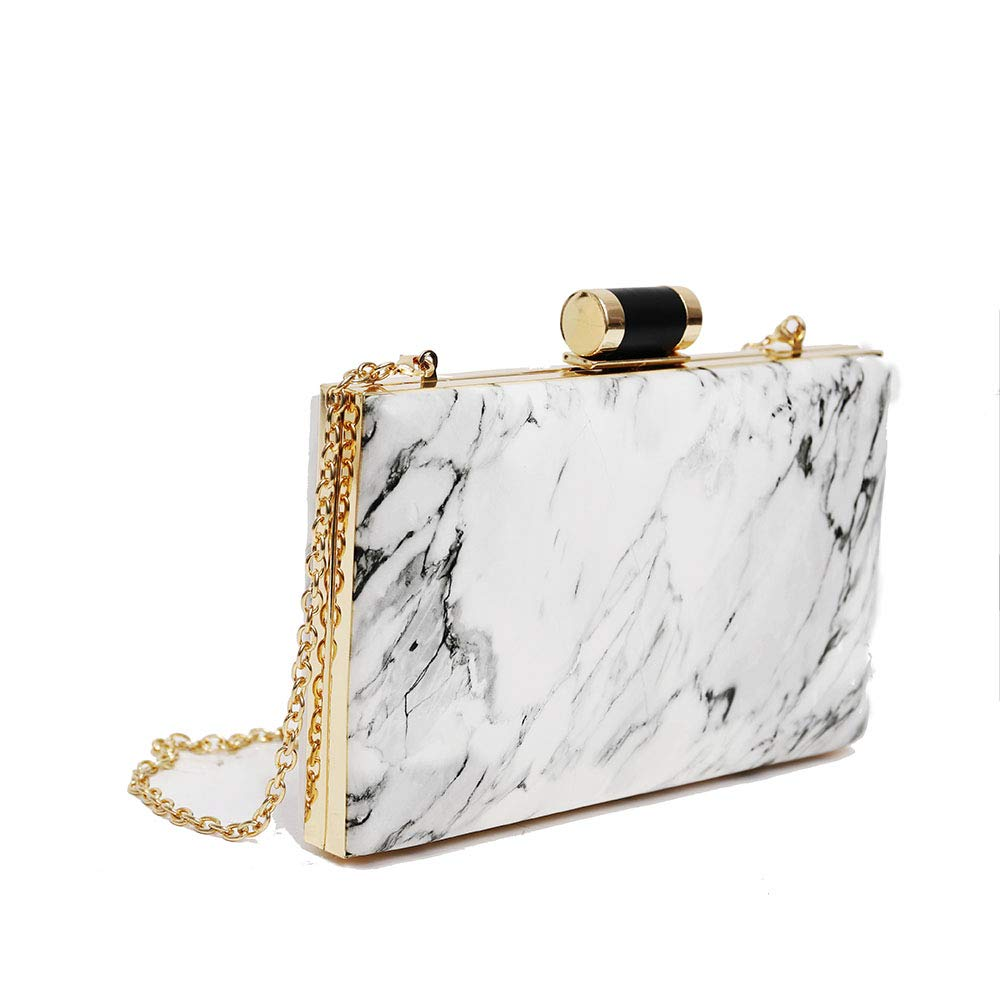 Patent Leather Evening Bag...