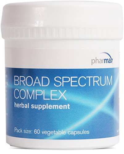 Broad Support Spectrum - Pharmax - Broad Spectrum Complex - Botanical Formula to Support Gastrointestinal Health and Digestive Function* - 60 Vegetable Capsules