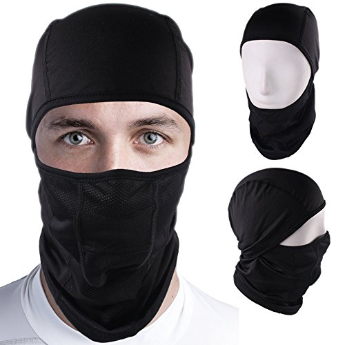 Windproof Sports Balaclava – Face Mask for Men & Women, Ideal for Biking, Motorcycling & as a Ski Mask. Lightweight & Super Comfortable with Breathable Mesh – Ultimate Cold Weather - Male Face Ideal