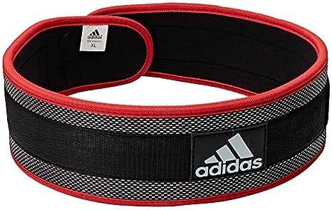 adidas Nylon Lumbar Lifting Belt BlackRed
