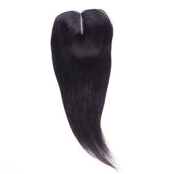 7A Brazilian Virgin Straight Lace Closure Unprocessed Virgin Straight Hair  Lace Closure Middle Part Brazilian