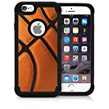 CorpCase iPhone 6 Case / iPhone 6S 4.7 Inch Case - Basketball / Hybrid Unique Case With Great Protection