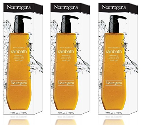 (Neutrogena Rainbath Refreshing Shower and Bath Gel- 40 Oz THREE PACK 120 Oz Total by Neutrogena)