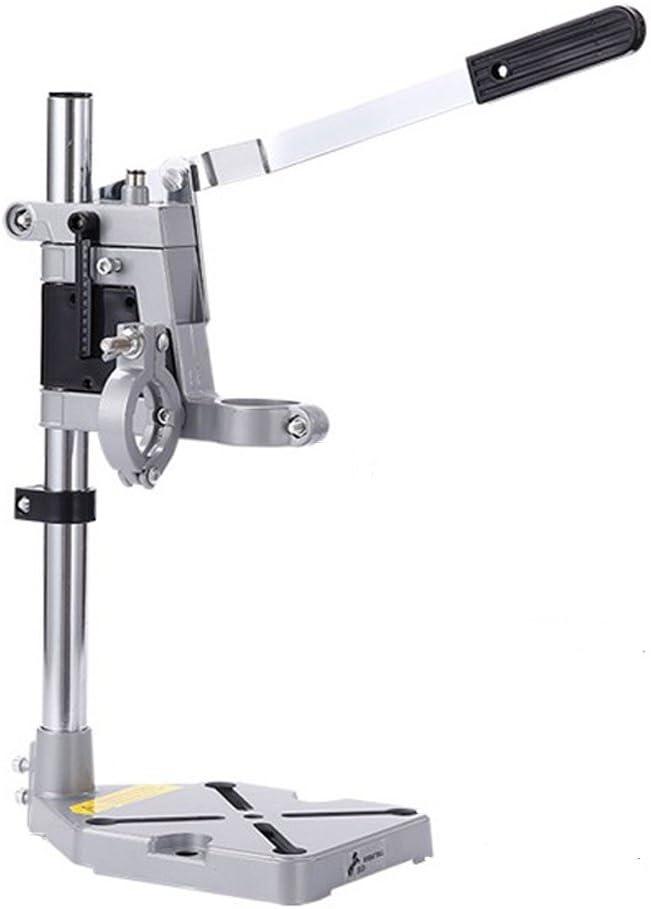 NUZAMAS - Soporte para taladros 2 en 1 para estación de trabajo, soporte giratorio para herramientas, soporte para herramientas de eje flexible