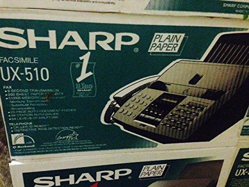 Sharp UX-510 Plain Paper FAX