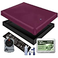 FREE FLOW WATERBED MATTRESS / LINER / HEATER / PAD / FILL DRAIN / CONDITIONER KIT (California King 72x84 1FFB1)