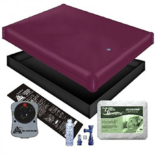 - FREE FLOW WATERBED MATTRESS/LINER/HEATER/PAD/FILL DRAIN/CONDITIONER KIT (Super Single 48x84 1FFB4)