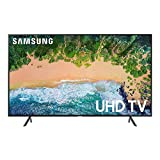 "Samsung 50"" Pantalla UN50NU710DFXZA Ultra HD Smart LED TV 4K con diseño Delgado y Aplicaciones como Netflix, Youtube, Hulu (Renewed)"