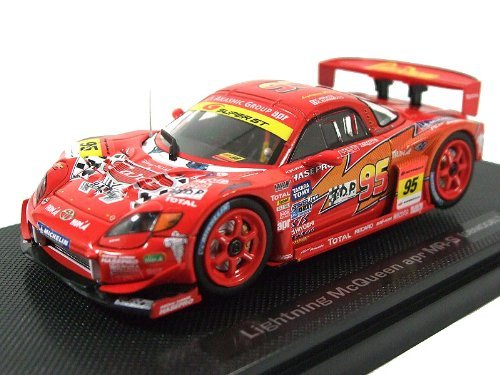 1/43 トミカエブロ ライトニングマックィーン apr MR-S 2008モデル MICHELIN #95(レッド) 「カーズ」 レースカーシリーズ No.1