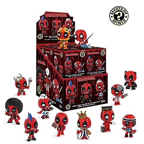 Funko Marvel Deadpool Playtime Mystery Minis, Case of 12