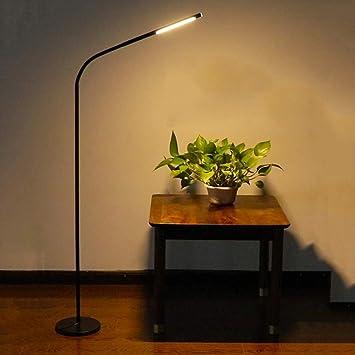 SUNA lámpara de pie inalámbrica con batería moderna LED habitación sala protección ocular: Amazon.es: Coche y moto