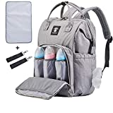 Extra Large Diaper Bag Backpacks, Wide Opening Baby Diaper Bags for Mom Dad