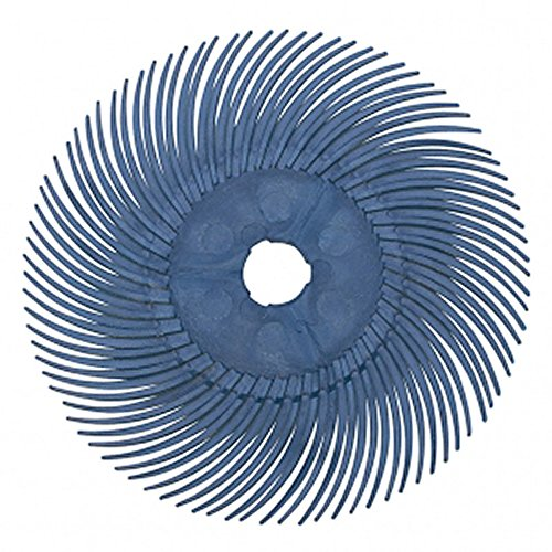 3M Radial Disc 3in, 400G (Blue) - PK/5 - - Rotary 3m