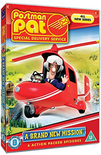 Postman Pat: Special Delivery Service: A Brand New Mission (Pat's Special Delivery: Crazy Robots / Pat's Special Delivery: A Tepee / Pat's Special Delivery: Fruit Bats ) [Region 2]