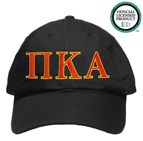 Pi Kappa Alpha (Pike) Embroidered Nike Golf Hat, Various Colors