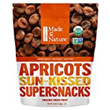 Made in Nature Organic Sun-Dried/Pitted/Unsulfured/Unsweetened All Natural Apricots - 48 oz.