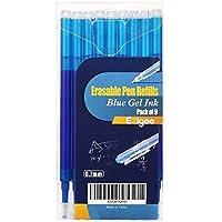 Ricariche Penne Cancellabili Punta 0,7 mm – Confezione da 9 Ricariche Blu - Ezigoo - 9BL000