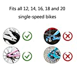 BNKIHDD Bicycle Training Wheels for Kids Stronger