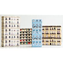 SUCK UK Skyline Wrapping Paper
