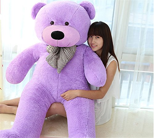morismos giant teddy bears plush toys dolls purple teddy bear valentines day birthday gifts 120cm - Giant Teddy Bears For Valentines Day
