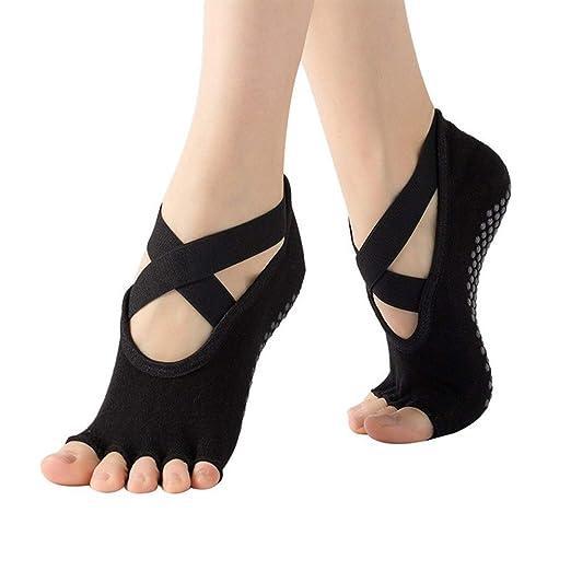 Lucy Day Calcetines de Yoga Antideslizantes Profesionales de ...