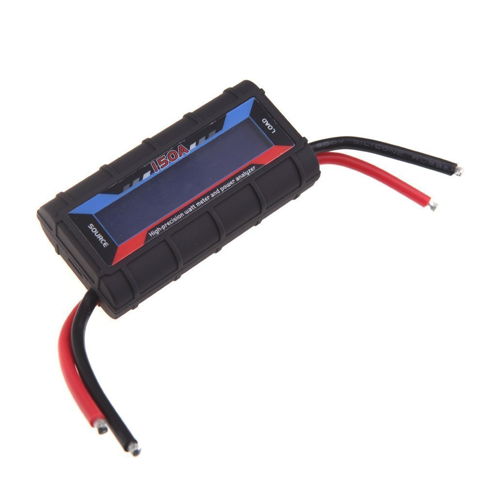 Vatimetro - TOOGOO(R)FT08 RC 150A vatimetro de alta precision y analizador de energia w / luz de fondo LCD SPHAGT60028