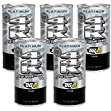 5 cans of New BG 44K Platinum