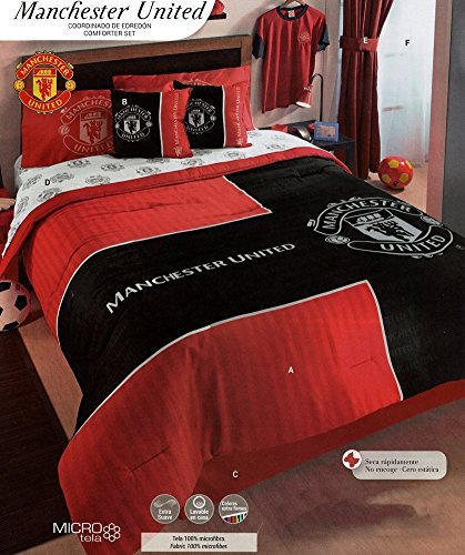 Comforter Set Manchester United Queen Buy Online In Aruba At Desertcart