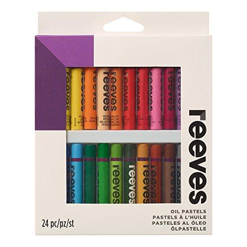 Winsor & Newton Reeves Oil Pastels - Set of 24,