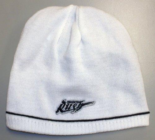 Rush Reversible Beanie - NLL Edmonton Rush Reversible Reebok Knit Hat - Adult Osfa