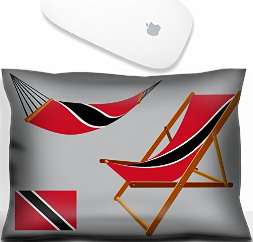 Luxlady Mouse Wrist Rest Office Decor Wrist Supporter Pillow IMAGE: 25270995 trinidad and tobago hammock and deck chair set against gray background abstract vector art illustration ()