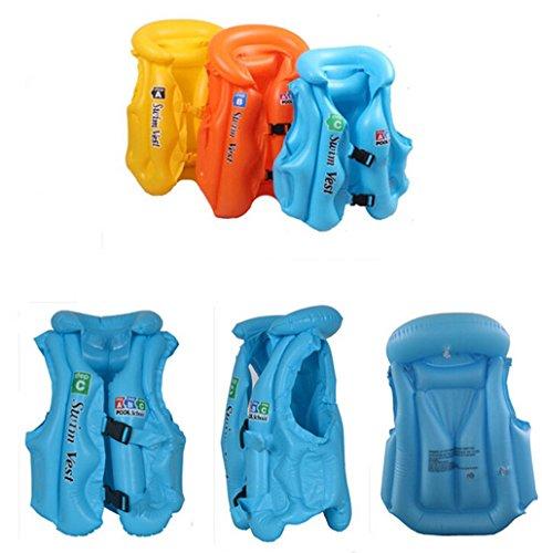 Omos Kinder Erwchsene Schwimmen Schwimmweste Badeanzug Verdickene Stoffdruck Säugling Aufblasbare SchwimmenSpielzeug (Farbe Random) (B)