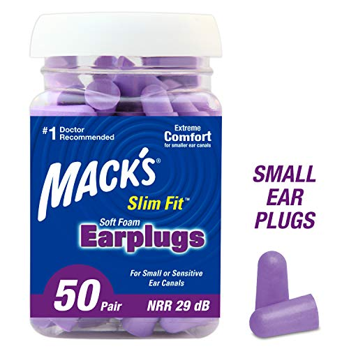 Mack's Slim Fit Soft Foam Earplugs