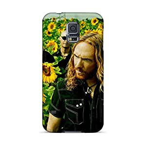 Shockproof Hard Cell-phone Case For Samsung Galaxy S5 With Allow Personal Design Nice Dark Tranquility Band Image DannyLCHEUNG