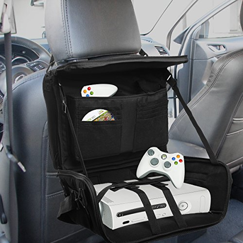 Travel Gaming Bag Console Game Controller Portable Organizer Car Seat Back Mount