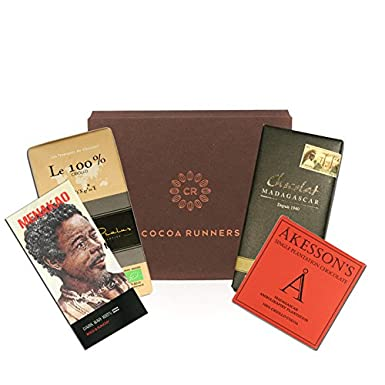 Cocoa runners 100 madagascan cocoa dark chocolate box a luxury cocoa runners 100 madagascan cocoa dark chocolate box a luxury selection of sugar negle Images